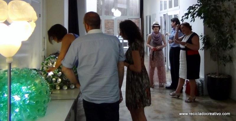 Entrega lámparas #yotambienquierouna (2)
