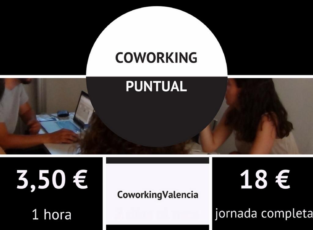 Tarifas Coworking Valencia Puntual