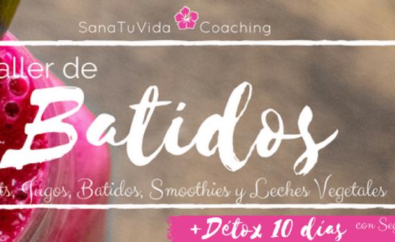 sanatuvidacoaching taller batidos